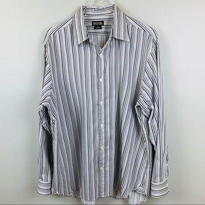 MICHAEL by Michael Kors, Striped Dress Shirt, XL